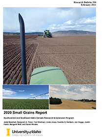 The 2020 Southern Idaho Small Grains Report is now available